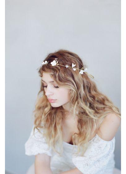 Simple Sugar Blossom Hair Vine - Wedding Accessories