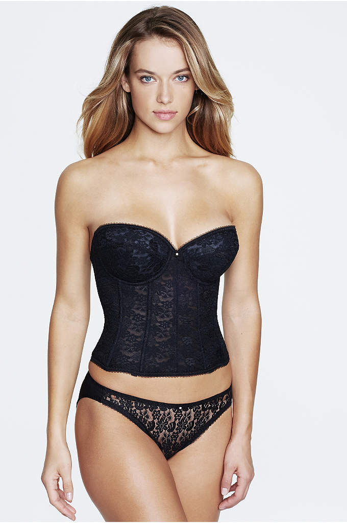 Dominique Lace Braselette - The Lace Braselette is super shaping, designed in