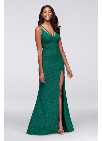 Long A-Line Spaghetti Strap Formal Dresses Dress - City Triangles