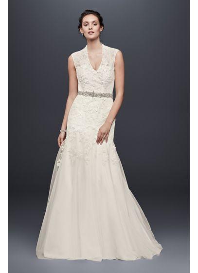Long Mermaid/ Trumpet Formal Wedding Dress - Melissa Sweet