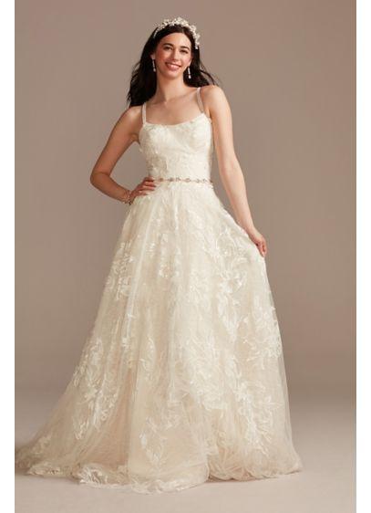 Long A-Line Boho Wedding Dress - Melissa Sweet