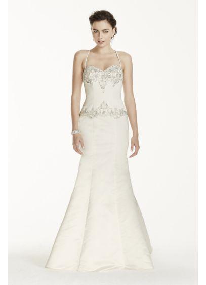 Long Mermaid / Trumpet Formal Wedding Dress - Jewel