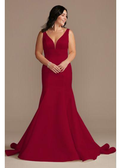 Long Mermaid / Trumpet Formal Wedding Dress - DB Studio