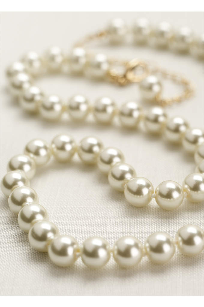 Classic Short Pearl Necklace - You can never go wrong with pearls! Add