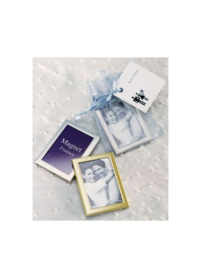 Magnet Back Mini Photo Frames - Pack of 3 - Wedding Gifts & Decorations