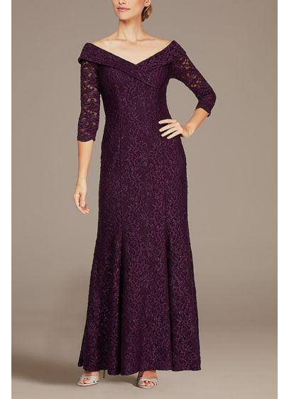 3/4 Sleeves Formal Dresses Dress - Alex Evenings