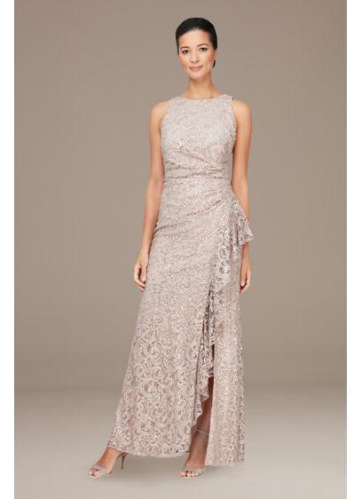 Long 0 Sleeveless Dress - Alex Evenings