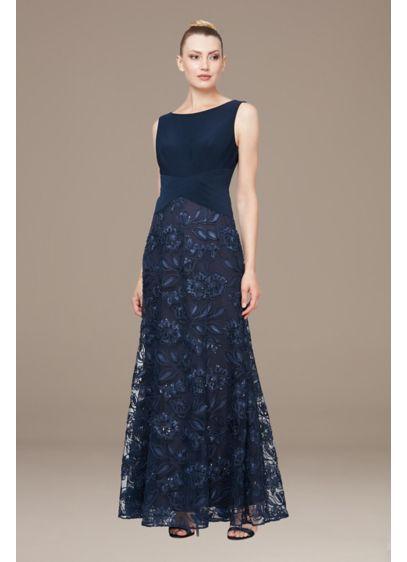 Long A-Line Strapless Formal Dresses Dress - Alex Evenings