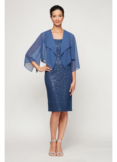 Short Sheath Cocktail and Party Dress -