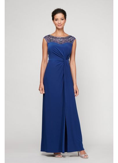 Long Sheath Strapless Cocktail and Party Dress - Alex Evenings