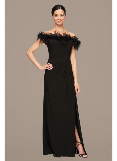 Long Sheath Off the Shoulder Formal Dresses Dress - Alex Evenings