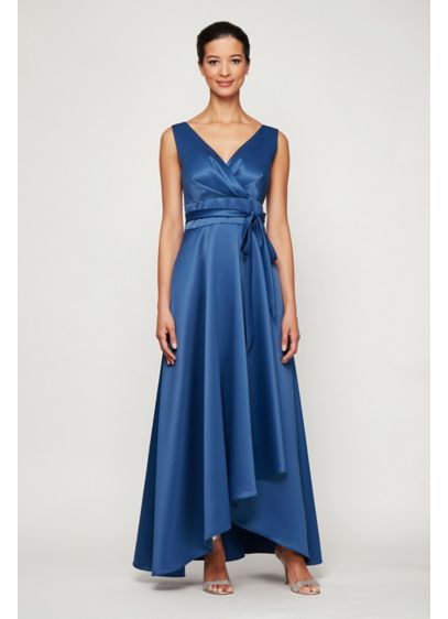 High Low Ballgown Sleeveless Formal Dresses Dress - Alex Evenings