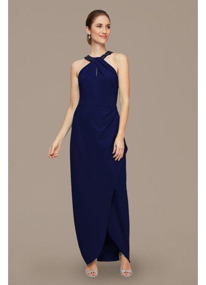 Long 0 Halter Formal Dresses Dress - Alex Evenings