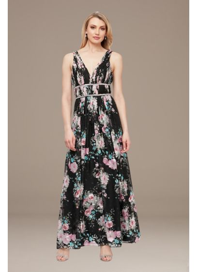 Long Fit and Flare Tank Formal Dresses Dress - Alex Evenings