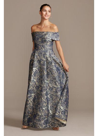 Long Ballgown Off the Shoulder Formal Dresses Dress - Alex Evenings