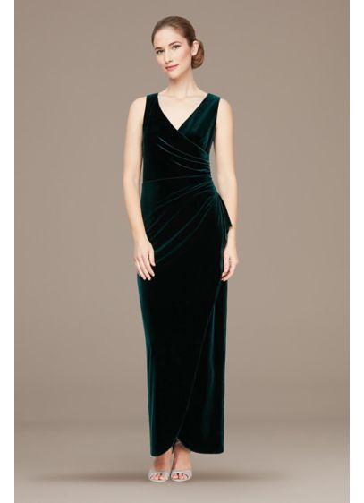 Long 0 Sleeveless Holiday Dress - Alex Evenings