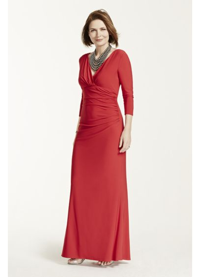 Long Sheath Wedding Dress - RM Richards