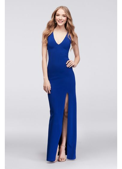 Long Sheath Spaghetti Strap Cocktail and Party Dress - Choon