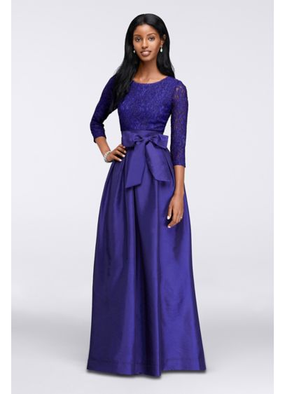 Long Ballgown 3/4 Sleeves Formal Dresses Dress - RM Richards