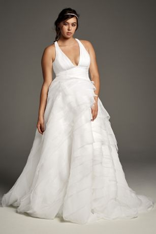 T Back Wedding Gowns