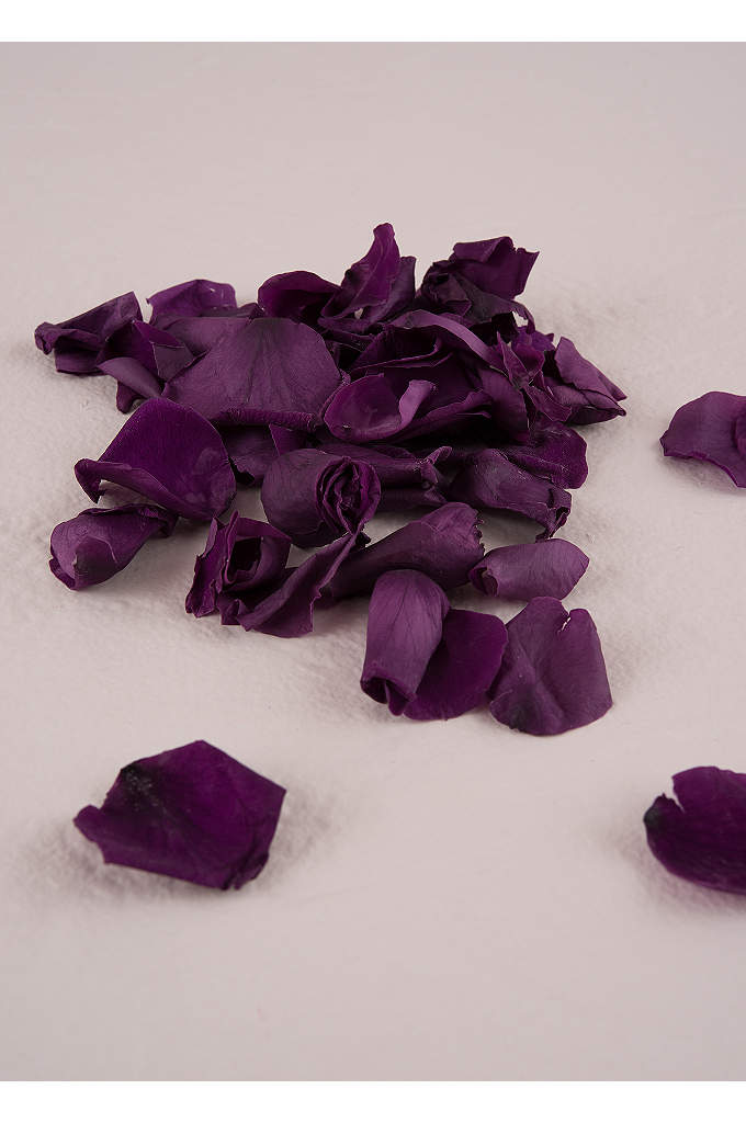Preserved Natural Rose Petals - Genuine rose petals are a sweet and green
