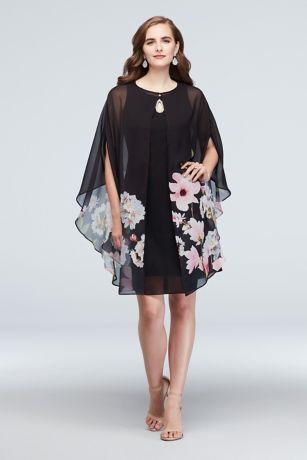 Short A-Line Jacket Dress - SL Fashions