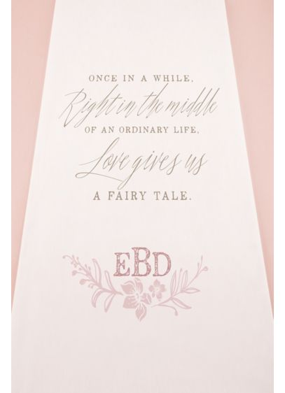 Personalized Modern Fairy Tale Aisle Runner - Wedding Gifts & Decorations