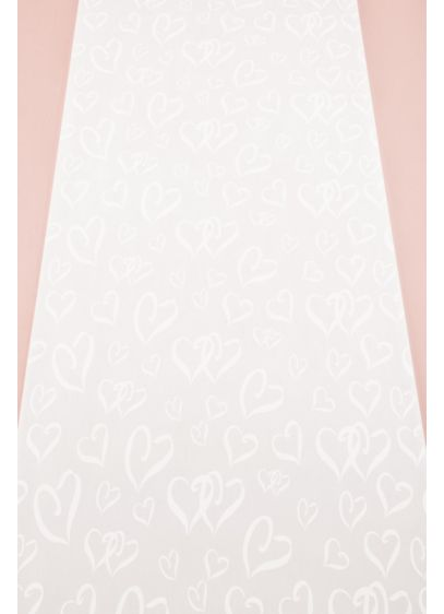 Heart Design Aisle Runner - Wedding Gifts & Decorations