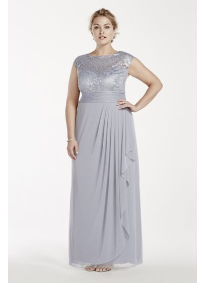 Long Sheath Cap Sleeves Cocktail and Party Dress - Patra