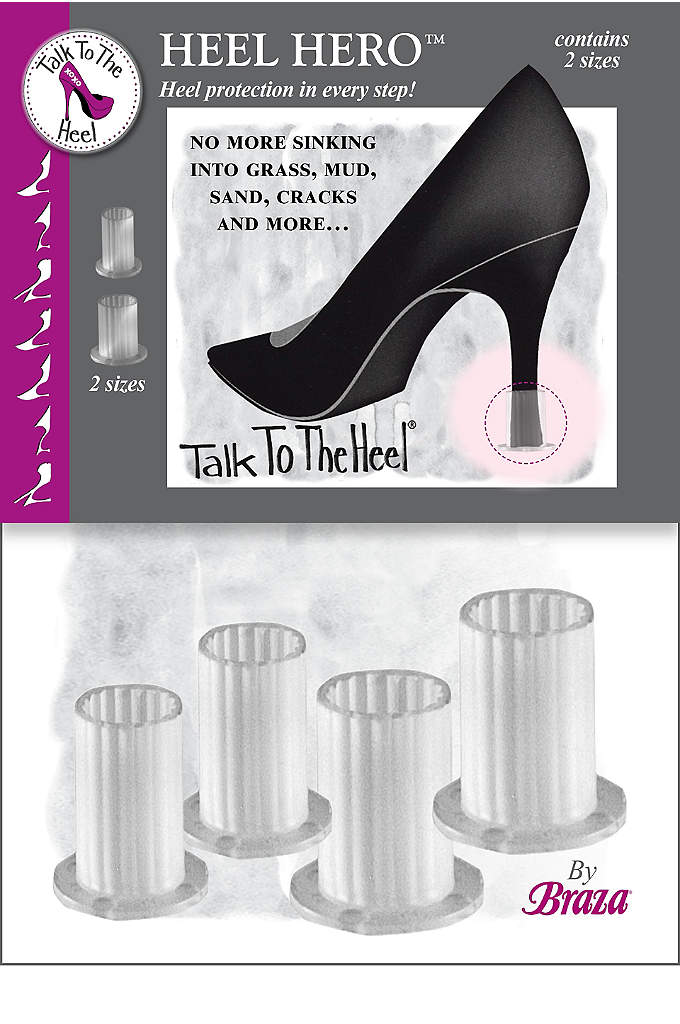Braza Heel Hero High Heel Protectors - Stop your stilettos from sinking into grass, mud,