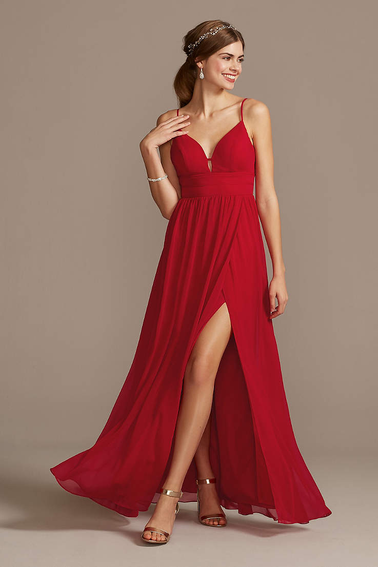 Red Wedding Dresses Gowns David S Bridal