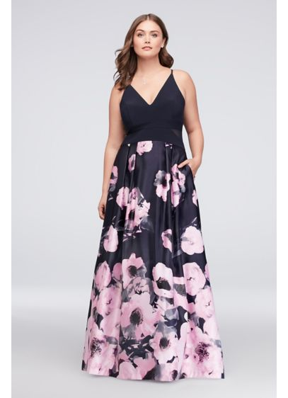Long Ballgown Spaghetti Strap Cocktail and Party Dress - Xscape