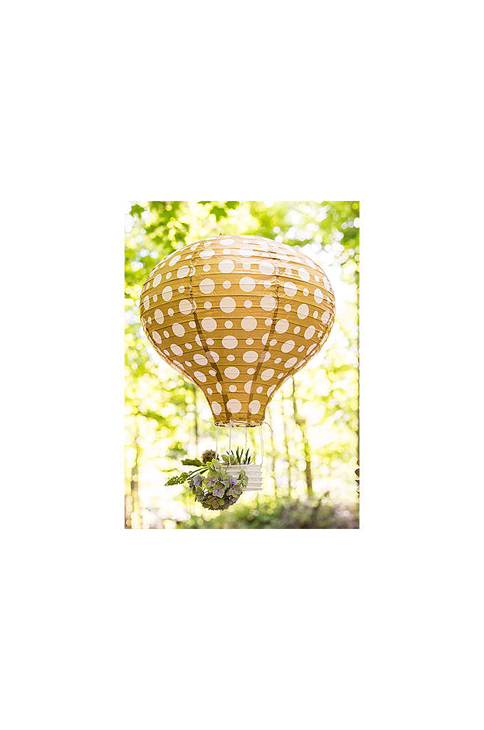 Hot Air Balloon Paper Lanterns Assorted Set of - These unique paper lanterns shaped like hot air