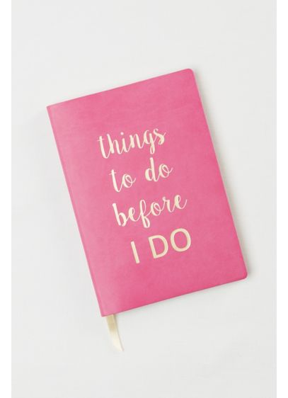 DB Exclusive Things To Do Before I Do Notebook - Wedding Gifts & Decorations
