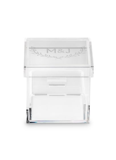 White (Acrylic Monogram Ring Box)