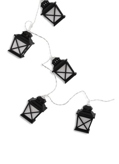 Vintage Street Lamps String Lights - Styled like a Victorian street lamp, this string