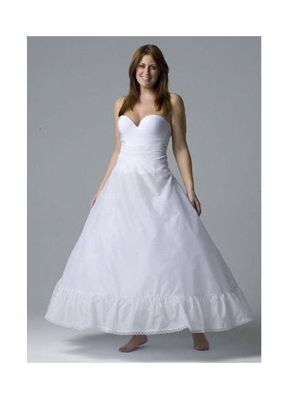 Plus Size Full Bridal Ball Gown Slip - Wedding Accessories
