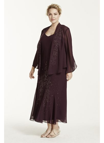 Long Sheath Jacket Formal Dresses Dress - RM Richards