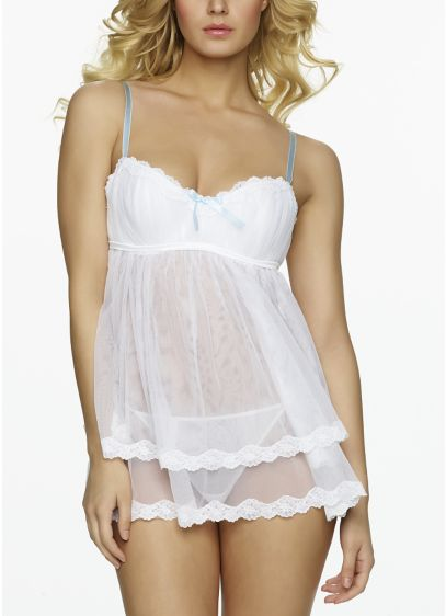 Jezebel Mayra Tulle Babydoll Set - Wedding Accessories