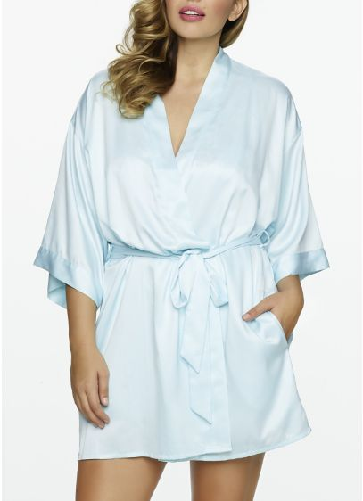Jezebel Plus Size Satin Kimono - Wedding Gifts & Decorations