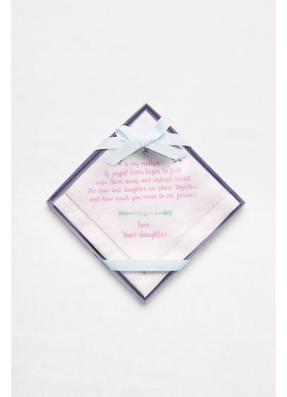 Mother of the Bride Handkerchief -