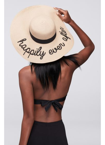 Happily Ever After Sun Hat - Wedding Gifts & Decorations