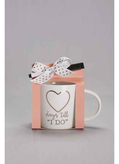 Days Until I Do Mug - Wedding Gifts & Decorations