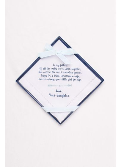 Blue (Father of the Bride Handkerchief)