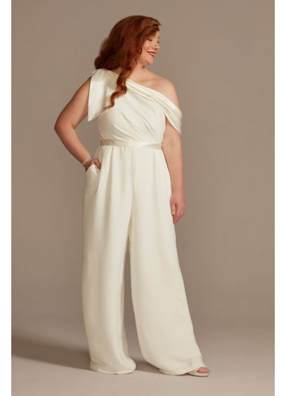 Long Jumpsuit Casual Wedding Dress - DB Studio