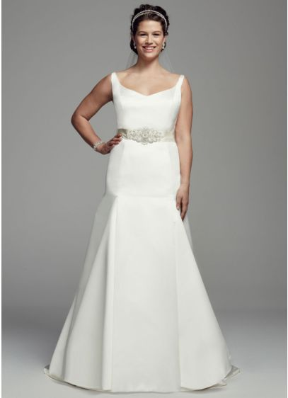 Long Mermaid/ Trumpet Tank Dress - David's Bridal Collection