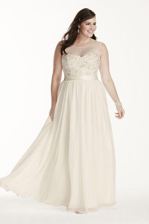 Plus Size Wedding Dresses for Beach Wedding