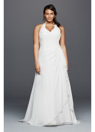 Long A-Line Wedding Dress - David's Bridal Collection