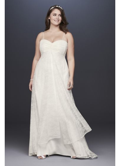 Long Sheath Formal Wedding Dress - David's Bridal