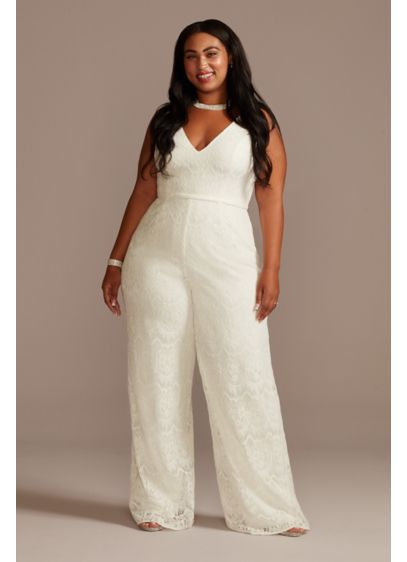 Long Jumpsuit Casual Wedding Dress - DB Studio